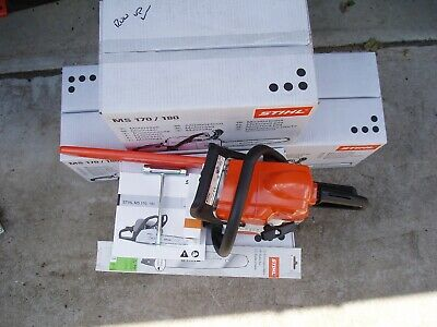 """View Details STIHL MS 170 / MS170 Petrol Chainsaw, NEW, 12"""" Bar And Chain FREE UK DELIVERY • 195.00£"""