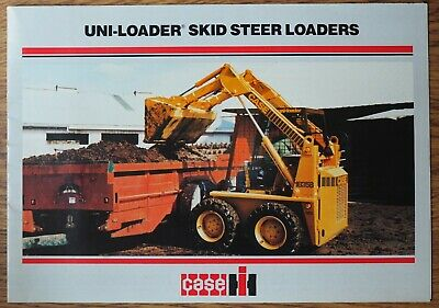 case 1835 skid steer