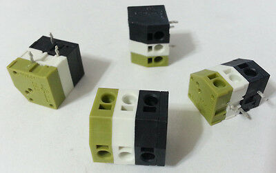 $9.99 • Buy Terminal Block Connector Strip 2 Conductor 3-Pole 5mm PCB WAGO 253-001 NEW 10pcs