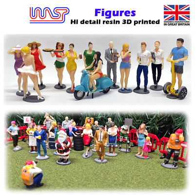 1/32 Scale Figures & Grid Girls - WASP • 6£