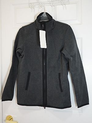 $ CDN89 • Buy New With Tag Lululemon Its Fleecing Cold Jacket Zipper Heathered Black 8 6 4 2