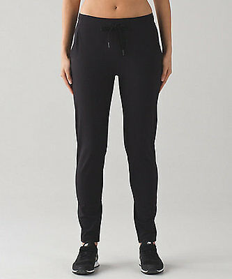 $ CDN129 • Buy New With Tag Lululemon Dropt Pant Full On Luxtreme Black Size 4 2