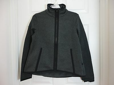 $ CDN89 • Buy NWT Lululemon Its Fleecing Cold Zip Up Jacket Heathered Black 6 4