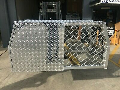 AU940 • Buy 1700mm DOG BOX UTE TRUCK DOG CAGE AND TOOLBOX STORAGE HUNTING DOG TOOL BOX