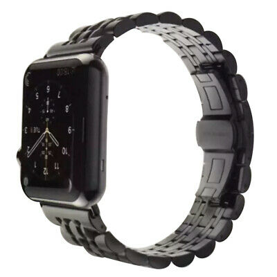 $ CDN22.99 • Buy Stainless Steel Strap Watch Band Strap For IWatch IPhone Watch 1/2/3 38/42mm