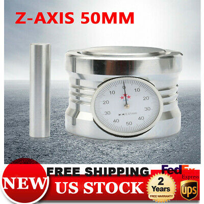 $55.02 • Buy Magnetic Z Axis Zero Pre Setter Dial Set For CNC Router 50mm±0.01mm Gage Offset