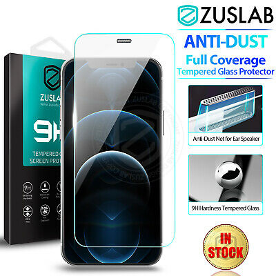 AU7.95 • Buy IPhone 11 Pro Max X XS Max XR ZUSLAB Tempered Glass Screen Protector For Apple