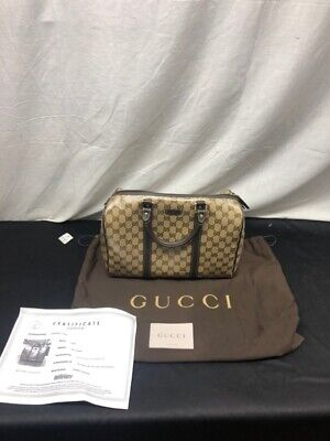 c3aa7744e Gucci Crystal GG Canvas Boston Bag (UD9002076) • 599.99$