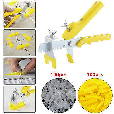 The New Tile Flooring Wall Leveling Spacer Large System Pliers Tool Clips Wedges • 6.09£