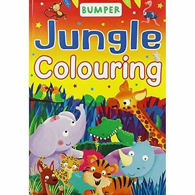 £4.49 • Buy Brown Watson Bumper Jungle Colouring Book Book The Cheap Fast Free Post