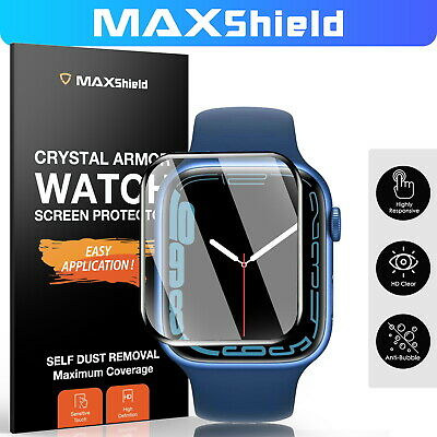 AU6.99 • Buy Apple Watch Series SE 6/5/4/3/2 6D Curved Screen Protector 38mm /42mm 40mm/44mm