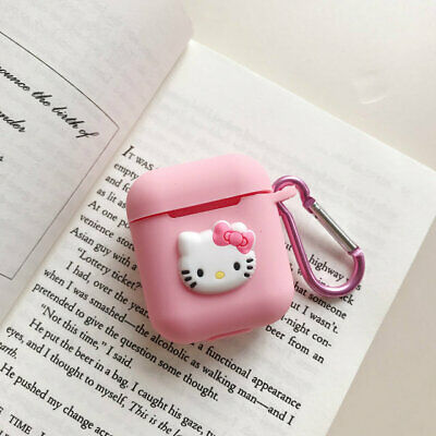 $ CDN6.35 • Buy Cute Pink Hello Kitty Strap Shockproof Case Cover Skin For Airpods Case Bag Gift