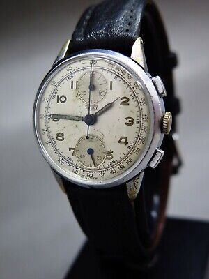 $ CDN698.16 • Buy Hugex Chronograph Vintage, Rare Valjoux 77 Hand Winding Fully Serviced, 1949