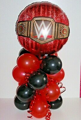 Foil Balloon Table Display  World Heavy Weight Wrestling Wwe No  Air Fill  B&r • 5.95£