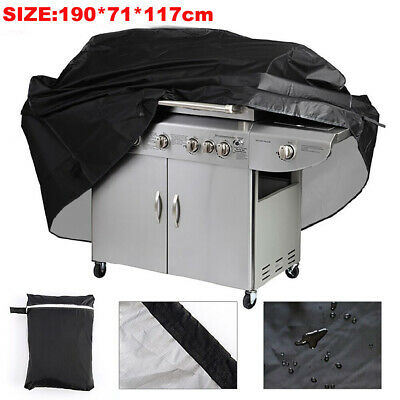 £12.34 • Buy HD EXTRA LARGE BBQ COVER WATERPROOF GARDEN BARBECUE GRILL 6 Burner GAS PROTECTOR