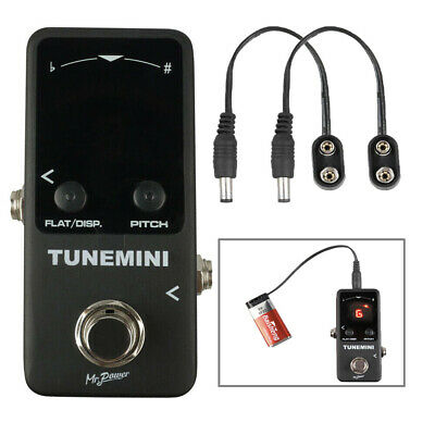 $ CDN43.99 • Buy 4 Mode Chromatic Tuner Pedal Mini & Battery Clip Converter Cable For Guitar Bass
