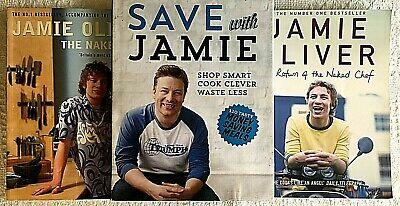 AU32.95 • Buy The Naked Chef + Return Of + Save With Jamie Oliver