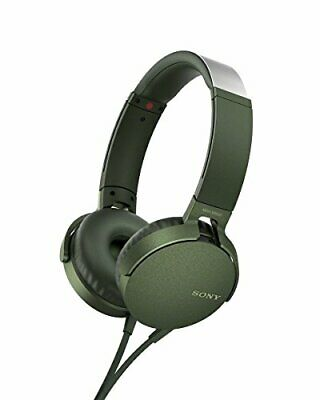 AU97.54 • Buy Sony MDR-XB550AP EXTRA BASS Headphones Green NEW From Japan F/S