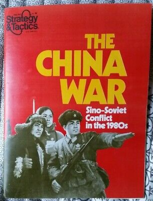 1979 SPI Strategy & Tactics #76 Game Magazine - The China War - Unpunched  • 9.99$