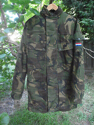 Netherlands Military Dpm Camo Parka, Gore Tex  And Fur Liner,  Storm Hood, New! • 97.94£