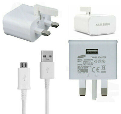 $ CDN9.62 • Buy GENUINE SAMSUNG MAINS CHARGER + MICRO CABLE For GALAXY S6 S7 PLUS S6 EDGE XCOVER
