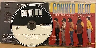 Canned Heat - Rolling & Tumbling (CD 1993) Success Elap Music Excellent • 4.95£