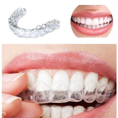 AU12.03 • Buy Teeth Whitening Mouth Trays Silicone Night Mouth Guard Clenching Grinding - 4pcs