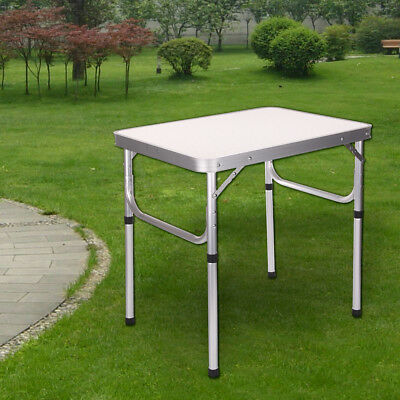 £25.99 • Buy Heavy Duty Folding Table Portable Plastic Camping Garden Party Catering BBQ New