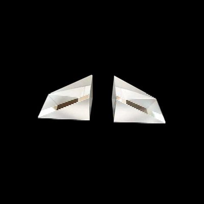 $13 • Buy 3pcs 19*33*26mm K9 Optical Glass 30° 60° 90° Right Angle Triangular Prism