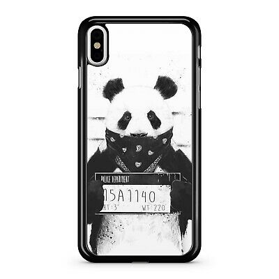 AU10.80 • Buy Mischievous Cheeky Panda Bear Prison Jail Mugshot Black Bandana Phone Case Cover