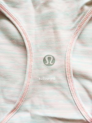 $ CDN99.99 • Buy Lululemon Cool Racerback CRB Tank Wee Are From Space White Barely Pink 10
