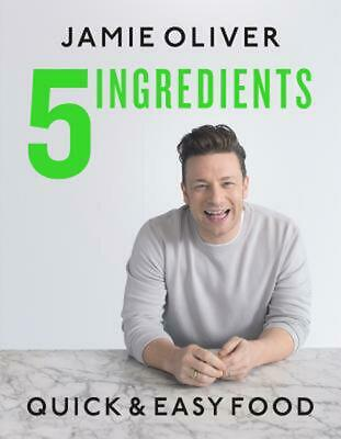 AU61.49 • Buy 5 Ingredients: Quick & Easy Food: Quick And Easy Food By Jamie Oliver (English)