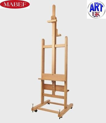 £375 • Buy Mabef Professional Artist Beech Wood Double Sided Studio Easel - M/19