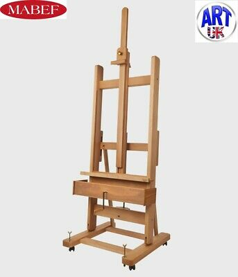 £990 • Buy Mabef Professional Artist Beech Wood Studio Easel With Crank Plus - M/04+