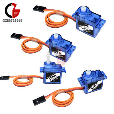 AU5.92 • Buy 4PCS Micro Mini 9G SG90 RC Servo Motor Gear For RC Helicopter Airplane Boat Car