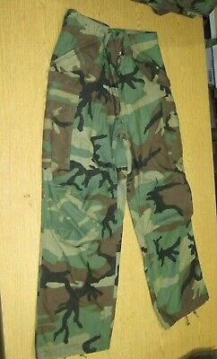 $45.95 • Buy New GI Issue M65 Cargo Field Pants Most Sizes Woodland Camo Trouser Cold Weather