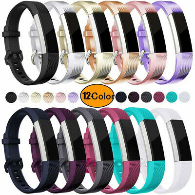 AU7.53 • Buy Replacement Silicone Sports Watch Band Strap Belt For Fitbit Alta/Alta HR/ACE