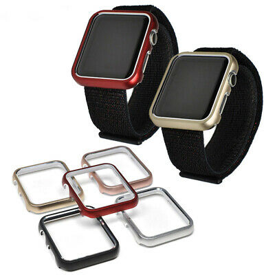 $ CDN4.88 • Buy Aluminum Alloy Cover Screen Protector Frame Case For Apple Watch Series 4 3 2 1
