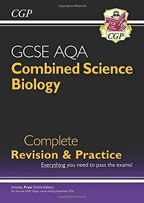 £3.29 • Buy 9-1 GCSE Combined Science: Biology AQA Higher Complete Revision ... By CGP Books