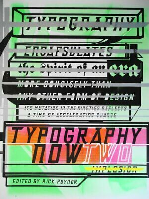 Typography Now Two Hardback Book The Cheap Fast Free Post • 8.49£
