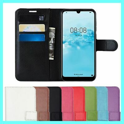 AU6.45 • Buy Leather Flip Case Wallet Stand Cover For Huawei Y5 2017 Y6 2018 Elite Y5ii Y7