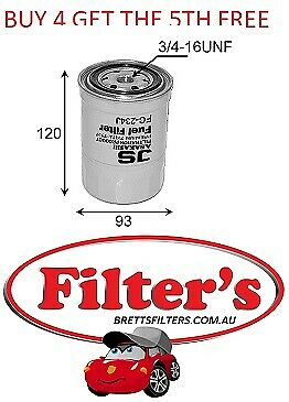 AU27.66 • Buy Fuel Filter Nissan Terrano 2.7l Wbyd21 Td27 Jan 97- Dec 04
