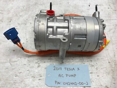 $219.99 • Buy 17 Tesla Model X Electric A/c Ac Air Conditioning Compressor 1042442-00-j 15-19