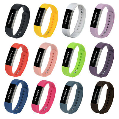 AU9.33 • Buy Silicone Strap Wristband Bracelet Replacement Watch Band For Fitbit Alta/Alta HR