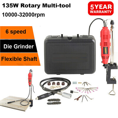 135W Hobby Craft Mini Drill Grinder Multi Rotary Tool Modeling Electric Dremel • 25.50£