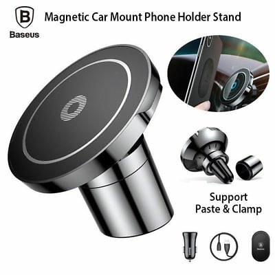 AU49.95 • Buy Baseus Qi Wireless Car Charger Mount Phone Holder Stand For Samsung IPhone