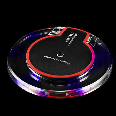$ CDN11.52 • Buy Qi Wireless Charger Charging Pad For IPhone XS/Max/XR/8/Plus/X Galaxy Note 9/S10