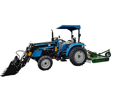 AU18000 • Buy New 30hp Tractor For Sale AgKing AK304 Tractor With FEL And Industrial Tyres