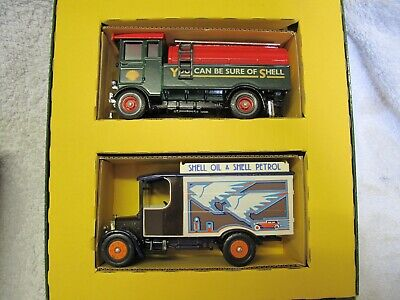 CORGI  Shell Oil Tankers  Limited Edition #D9/1 Two Model Set In Box  ~* • 12£