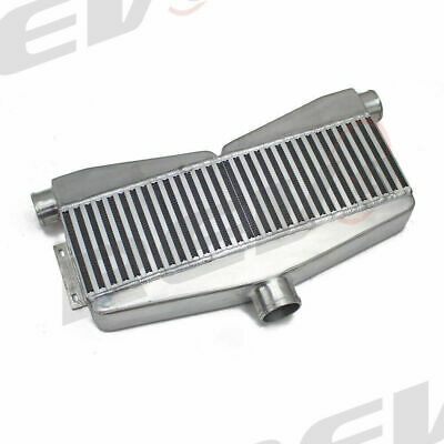 $266 • Buy Rev9 UNIVERSAL TWIN TURBO INTERCOOLER FMIC 28X12X2.5 400-800HP 2 IN 1 OUT